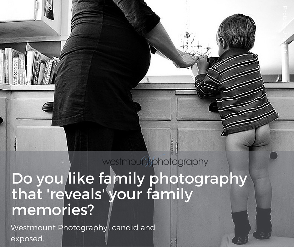The raw naked uncencored truth in family photography...