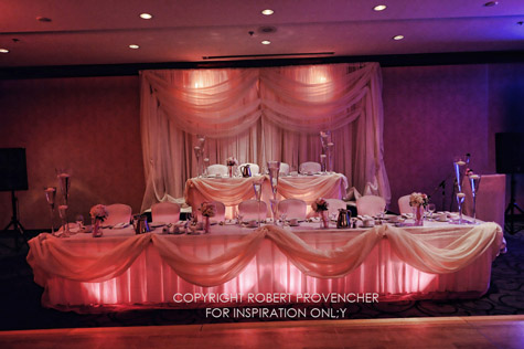 What About Your Wedding Reception Hall Lighting