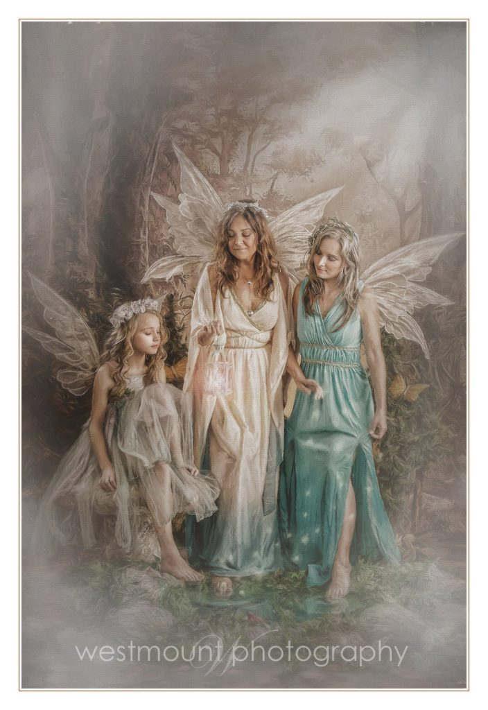 Three generations of fairies….