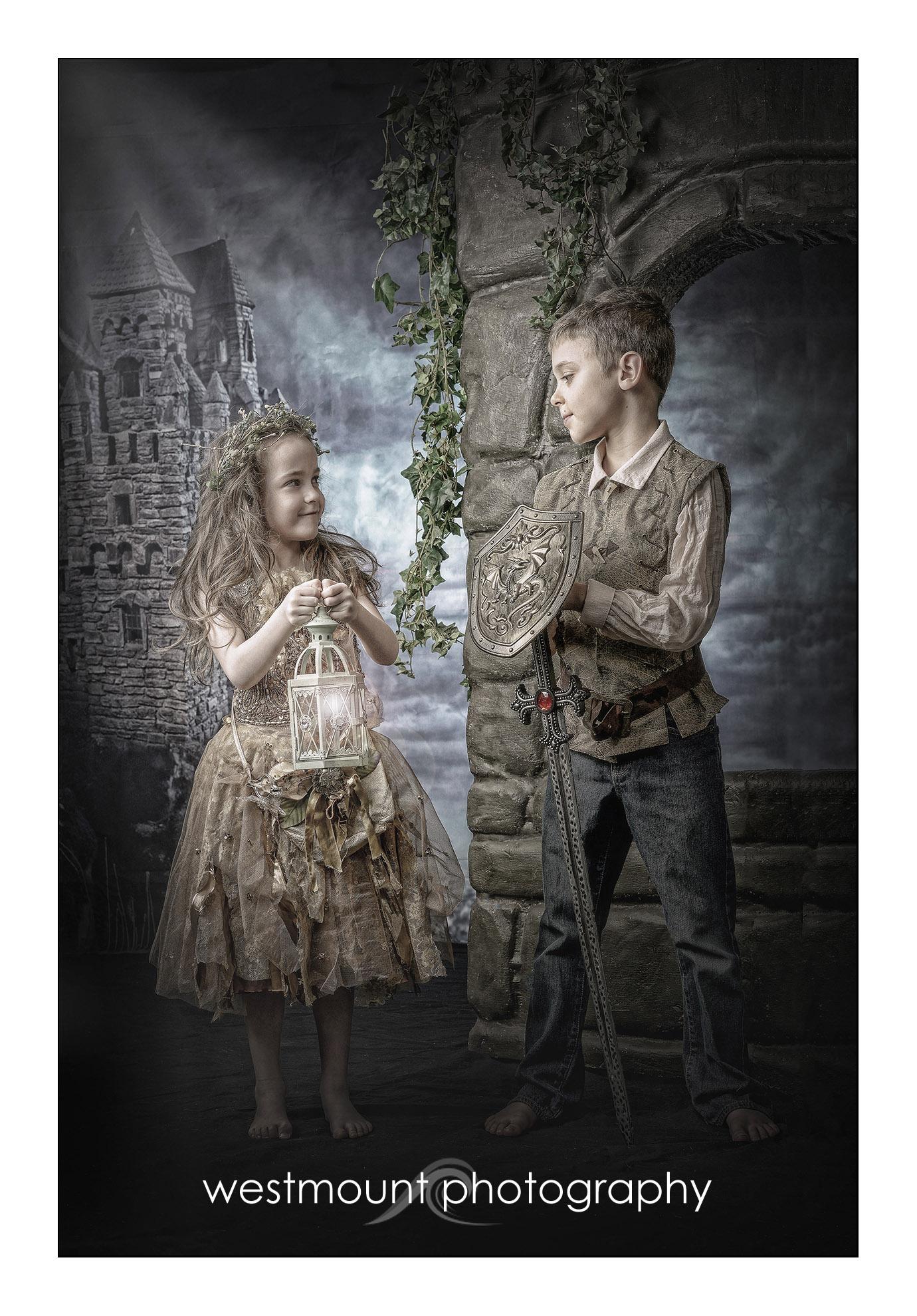 Medieval kids….