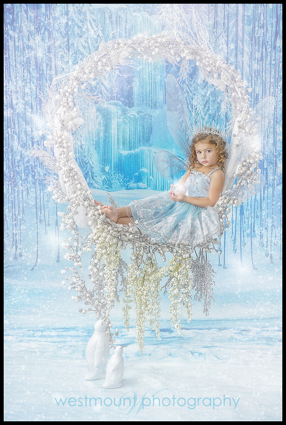 Ice fairies are cool and artful…
