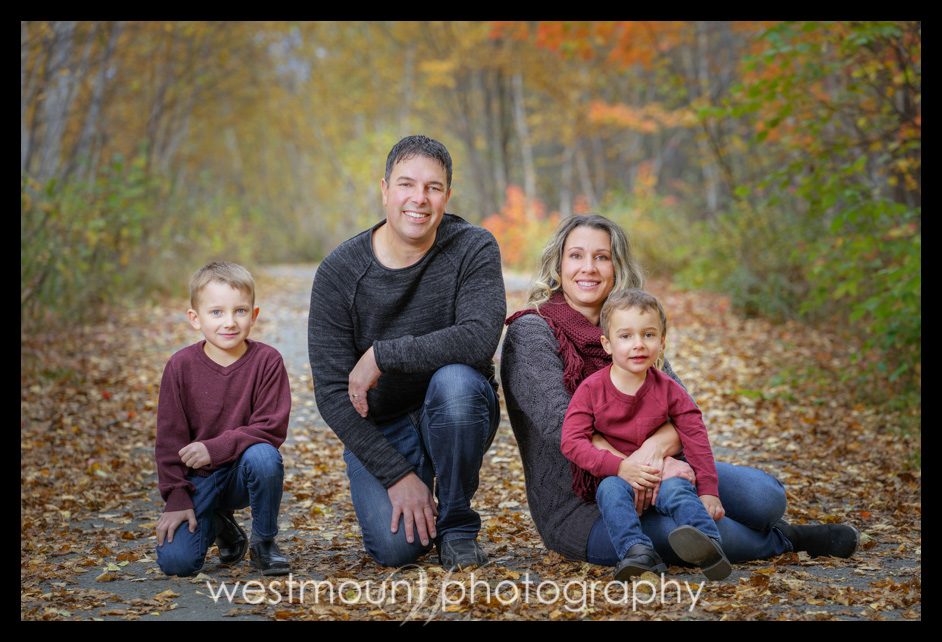 Family portraits on the trails…