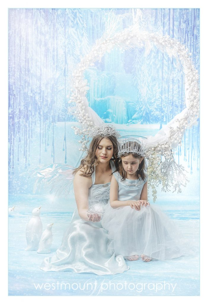 Ice Fairies in the 'Frozen' theme…..