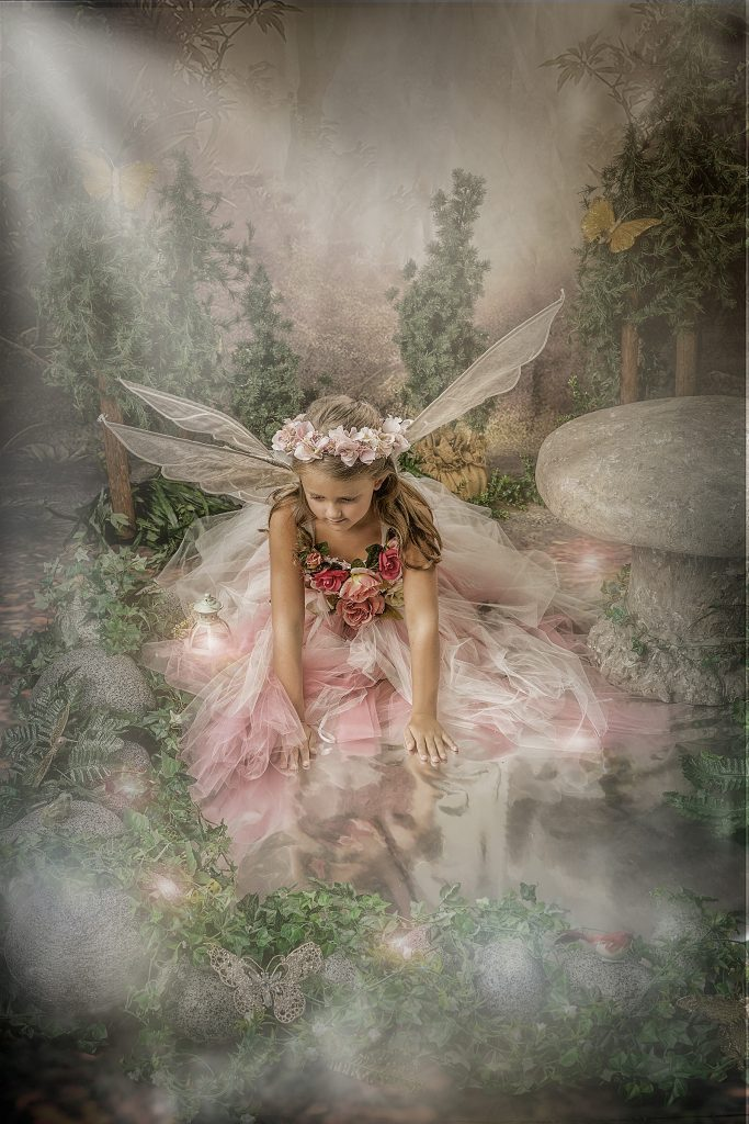 Bringing your child in for fairy portraits…some tips