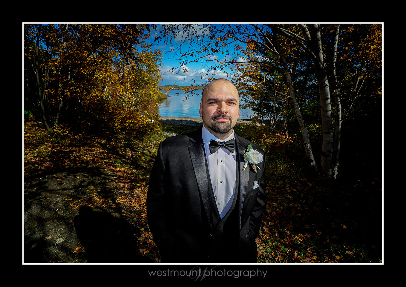 Elopement wedding on Ramsay Lake, Sudbury…